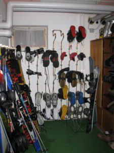Bild vom Skiraum (Foto: Nicole Fuchs)