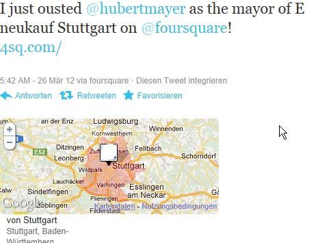 Foursquare und Gastronomie – schwer vereinbar auf dem deutschen Markt?!