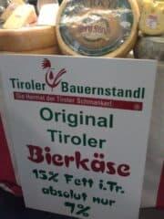 Bild vom Tiroler Bierkäse