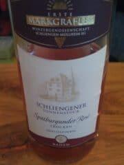 Flasche Spätburgunder Rose