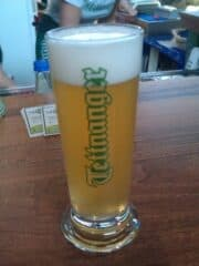 Bild vom Bierglas mit Tettnanger Bier