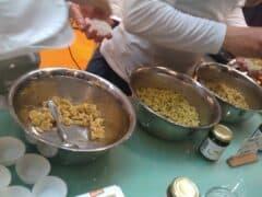 Fertige Nudeln mit Pesto Peperoni