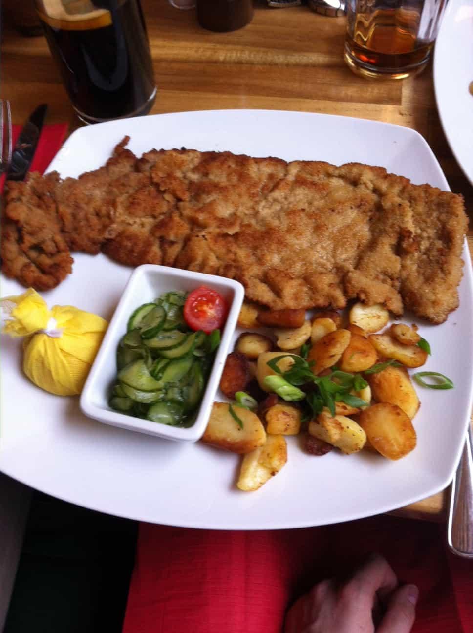 Bild vom klassischen Wiener Schnitzel