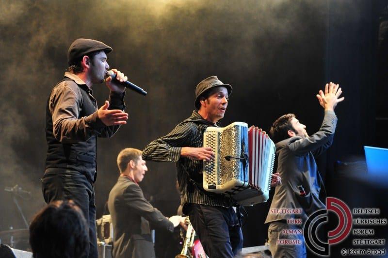 Bild vom Auftritt von Babylon Circus aus Lyon