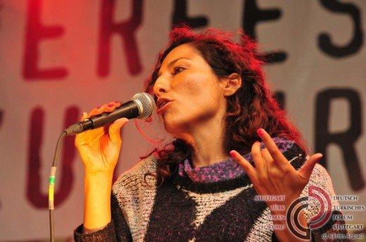 Sängerin von Volxtanz