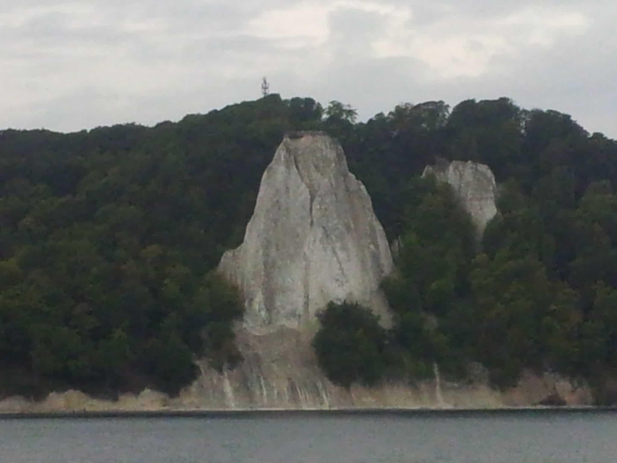 Bild von den Kreidefelsen auf Rügen (Königsstuhl)