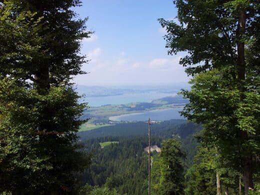 Ausblick auf unserer Bergtour