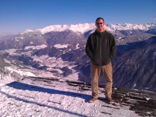 Bild von mir im Skigebiet Schlick2000