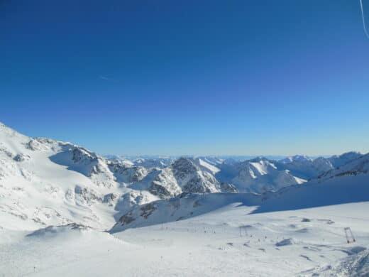 Stubaital Tag 3: Winterwanderweg Auf Dem Stubaier Gletscher