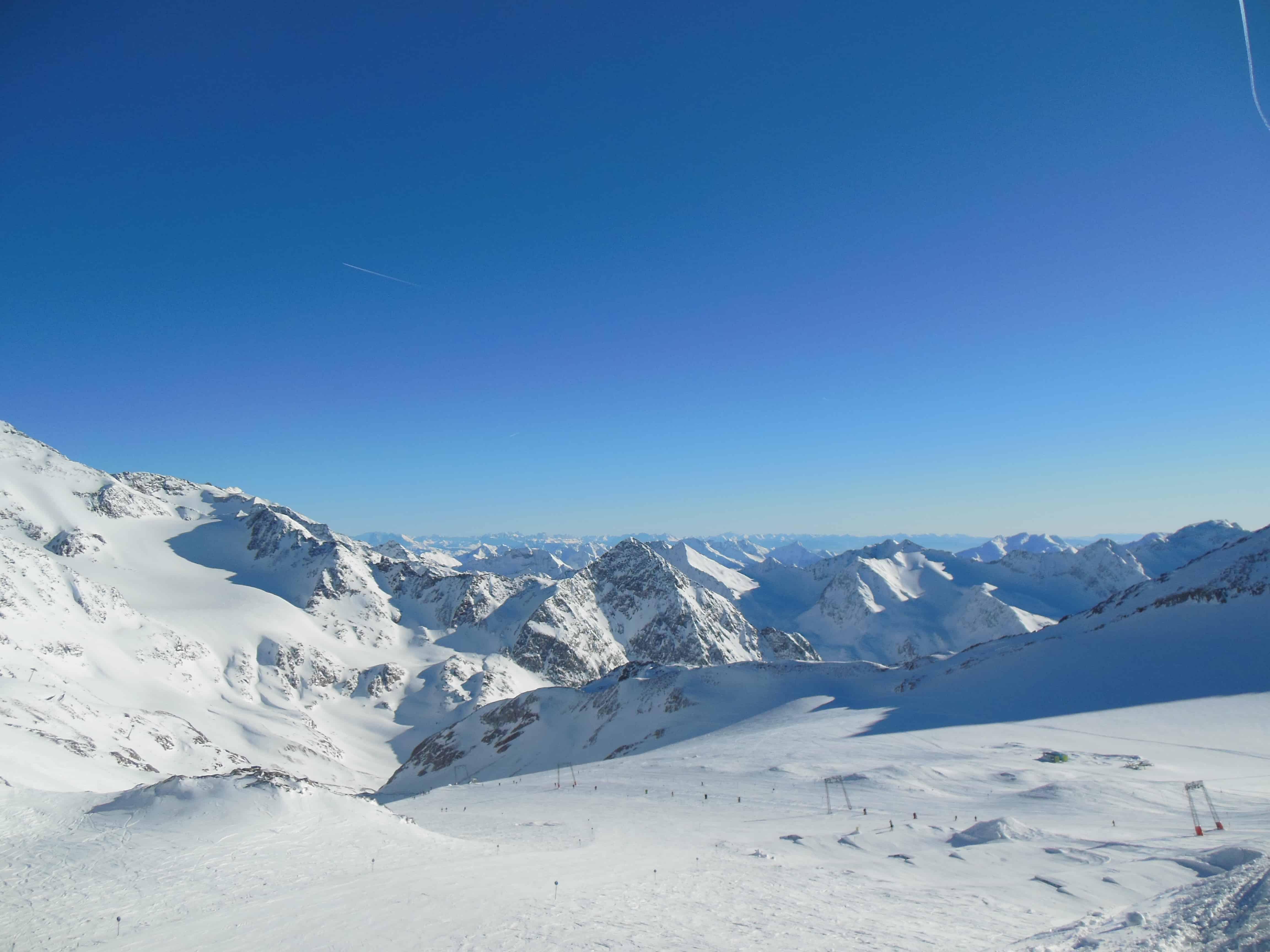 Ausblick von der Bergstation Jochdohle