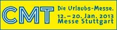 Logo der CMT 2013 in Stuttgart