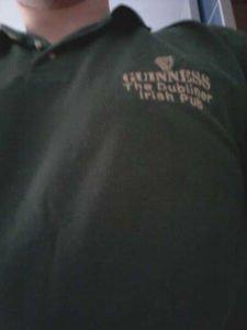 Mein heutiges Shirt zum St. Patricks Day