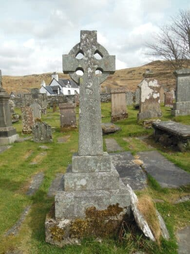 Schottland_Friedhof