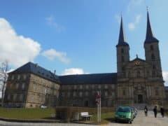 Innenhof des Klosters Michaelsberg