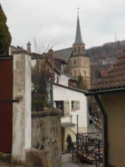 Impression aus Kulmbach auf dem Weg zur Plassenburg