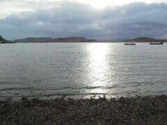 BIld von der Gaelic Sea beim Sonnenuntergang