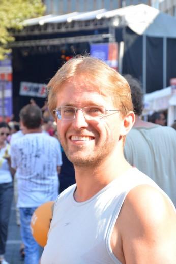 Lars auf dem Sommfestival der Kulturen 2013