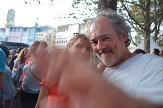 Rolf am Sonntag beim Sommerfestival