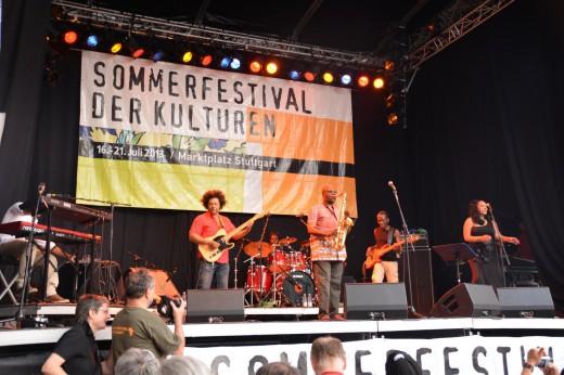 Manu Dibango & The Soul Makossa Gang beim Sommerfestival der Kulturen 2013