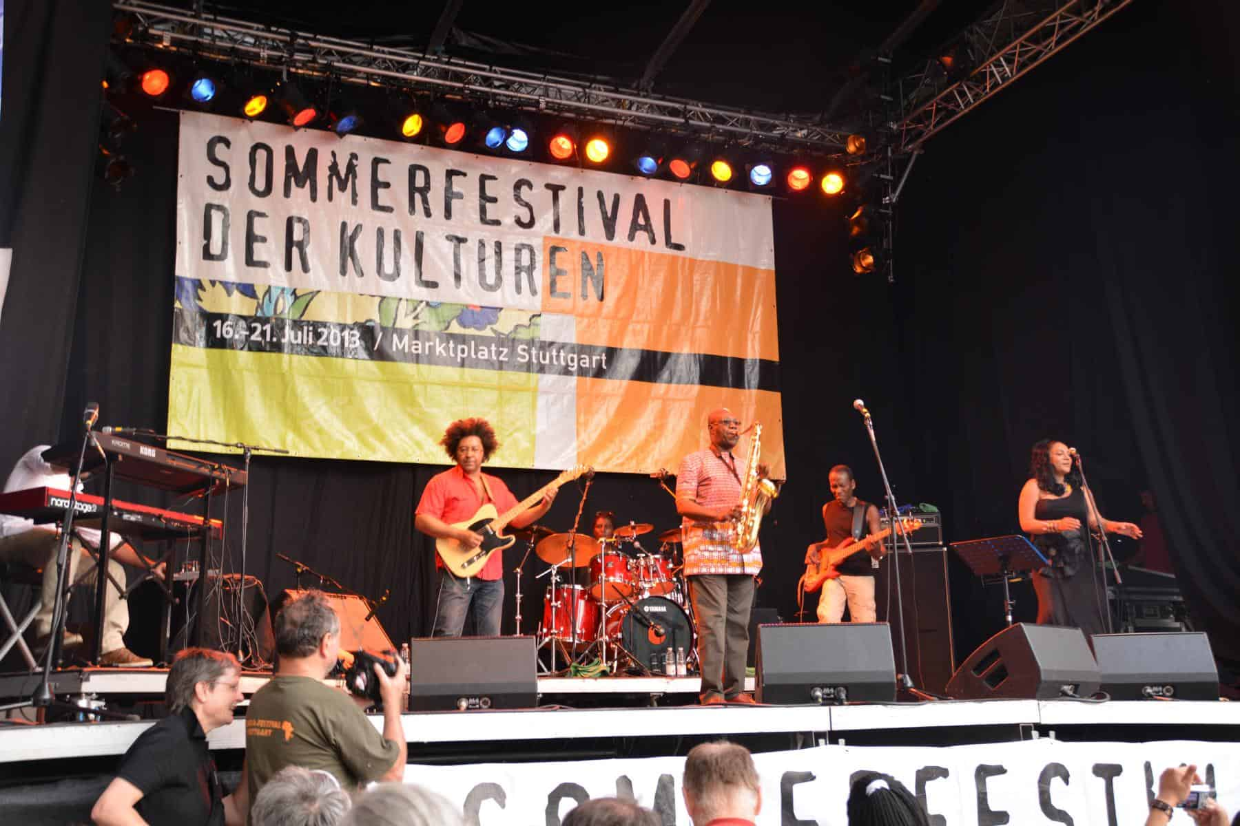 Sommerfestival der Kulturen Stuttgart 2013 – Tag 2: Herrlicher Stress