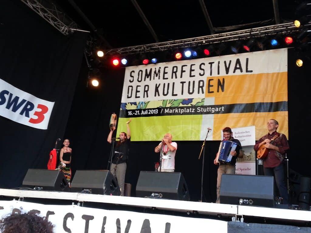 Tarantulaluna auf dem Sommerfestival der Kulturen 2013 in Stuttgart