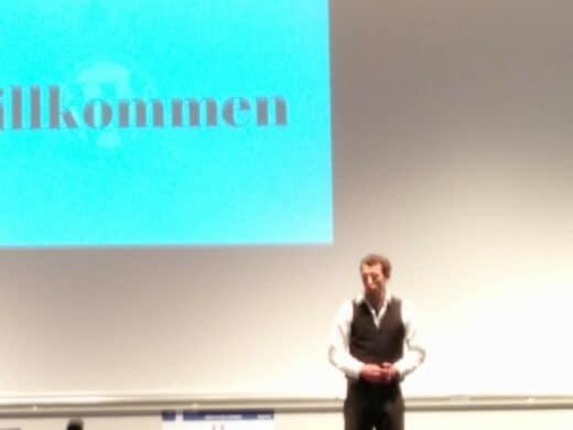 Frank Bültge bei seiner Keynote