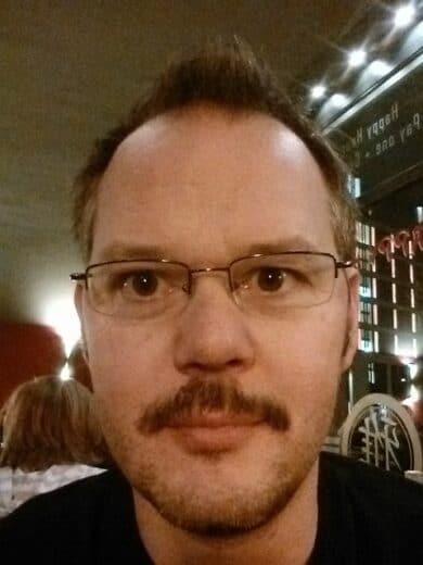 Ich, am Ende der #Movember Aktion
