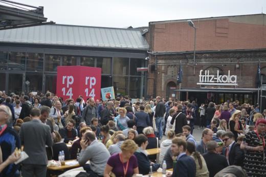 Menschen auf der re:publica 2014
