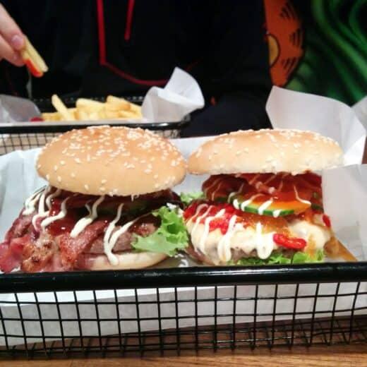Burger bei Beef Brothers Düsseldorf