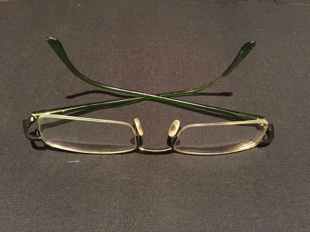Meine aktuelle Brille.. weg damit dank Augen lasern
