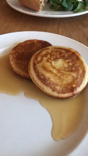 Pancakes vom Buffet im Unperfekthaus Essen