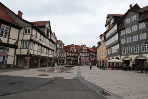 Fussgängerzone in Wolfenbüttel