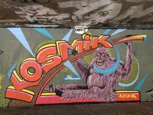 Streetart in der Hall of Fame in Bad Cannstatt