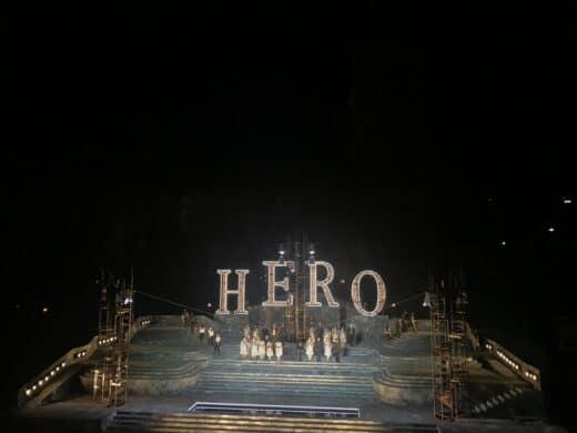 Das Ende - Applaus für die Künstler bei Jesus Christ Superstar in Magdeburg