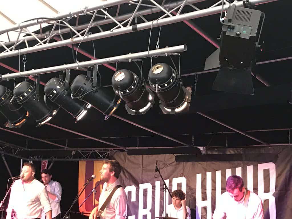 Grup Hubb - eine Ska-Reggae-Polka-Rock Band aus Kirchheim auf dem Labfestival 2018
