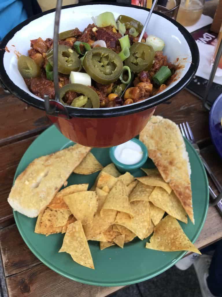 Ziemlich leckeres Chili im Sausalitos
