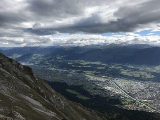 Und nochmal Innsbruck von noch weiter oben...