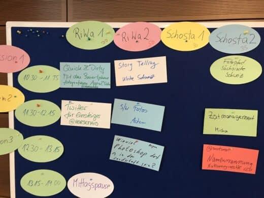 Sessionplan für Sonntag auf dem Fotocamp #HerbstlichT18