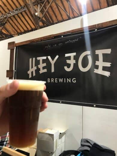Leckeres Pale Ale von Hey Joe auf dre Speis & Trank in Fellbach