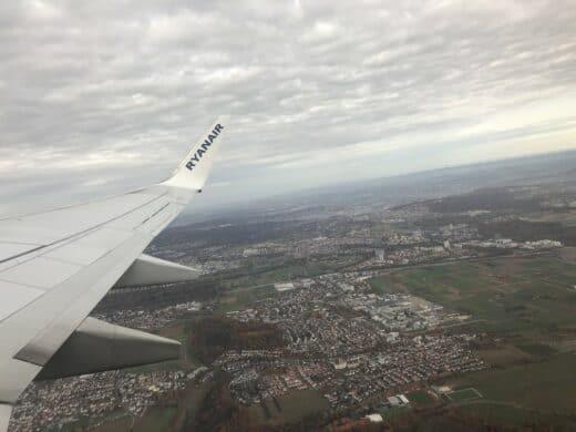 Mit Ryanair ging es ab Stuttgart los nach Irland