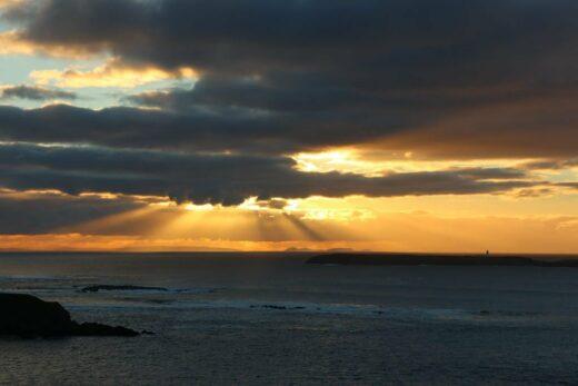 Sonnenuntergang Malin Beg