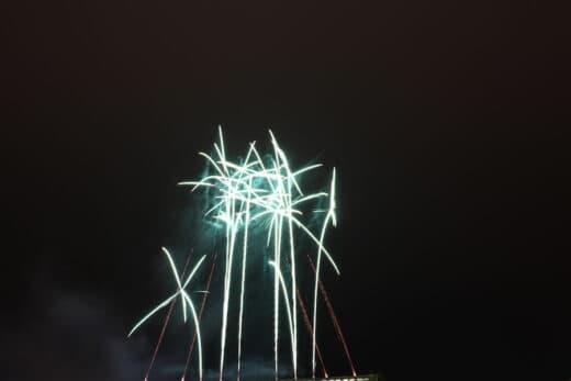 Feuerwerk bei Stuttgart leuchtet 2018