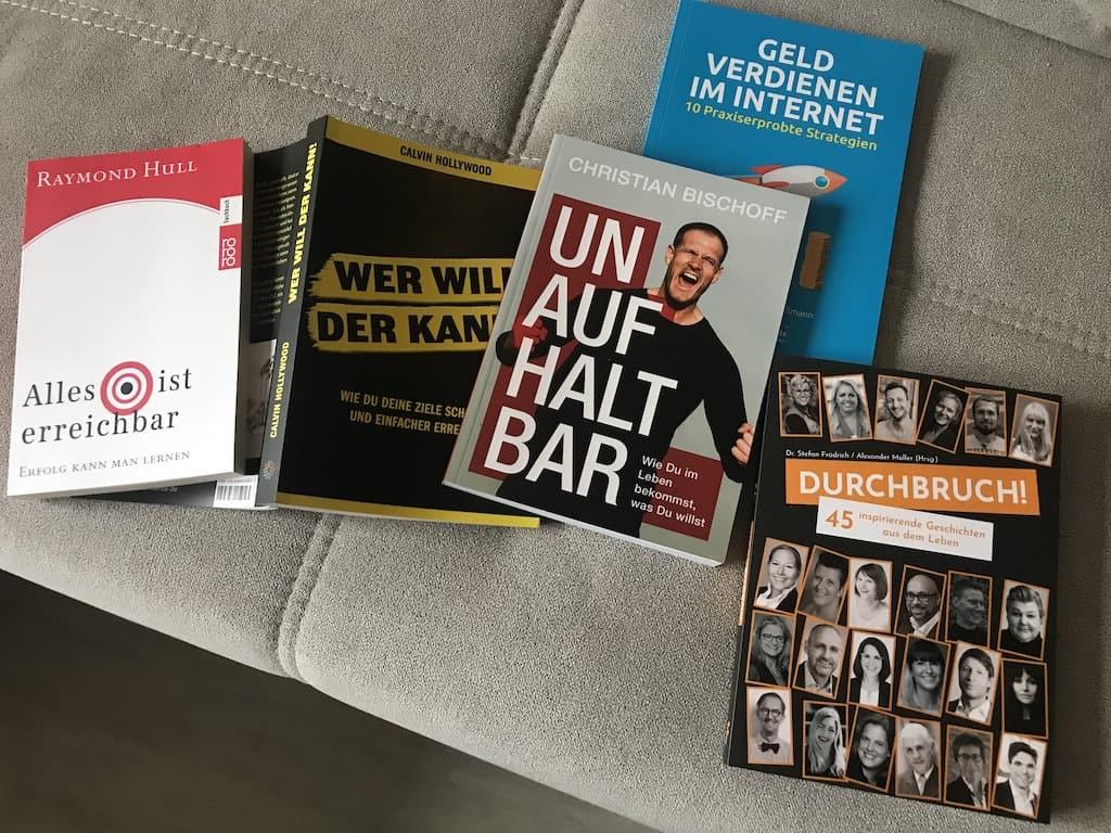 Bücher, die ich noch vor mir habe