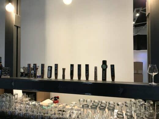 Die Bar im neuen Kraftpaule Stuttgart