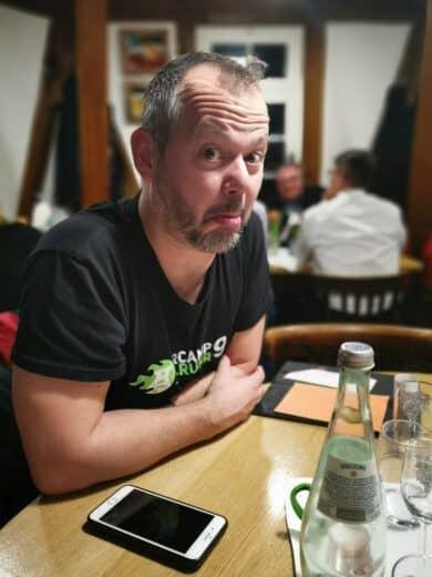 Hubert Mayer im Schellenturm