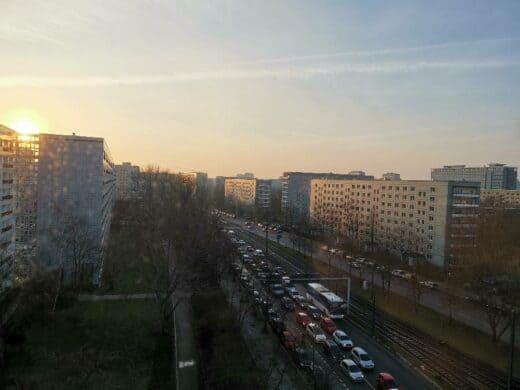 Ausblick aus dem Ibis Budget Berlin Alexanderplatz