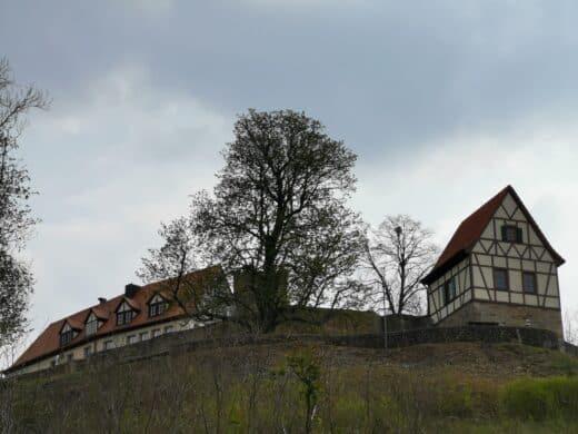 Mächtig thront die Ruine über Königsberg