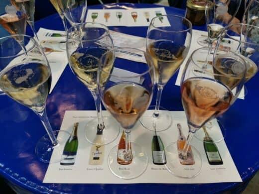 Champagnerprobe auf der SlowFood 2019 - nix für mich