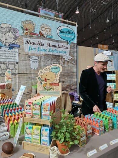 Christian Schmitt und seine Ravellis Kürbiskerle - ein lohnenswerter Genuß. Also die Kürbiskerle ;)