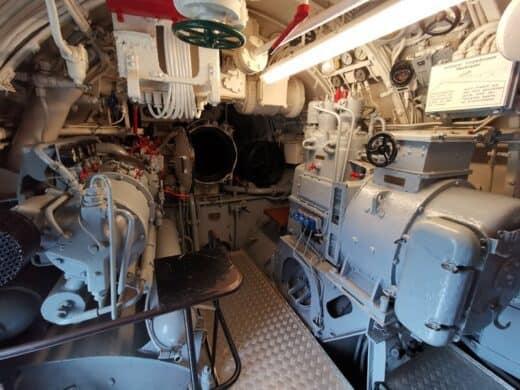 Ein Blick in das U-995
